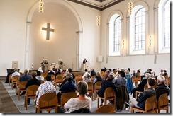 100 Jahre OPV Gottesdienste in der Waldbröler Kirche Jochen Gran predigt