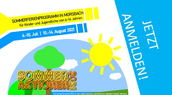 Sommeraktionen 2021